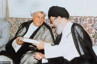تصاویری از آیت الله هاشمی رفسنجانی در کنار رهبر معظم انقلاب