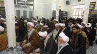 گزارش تصویری دیدار ائمه جماعات و مبلغان آموزش و پرورش با آیت الله اعرافی