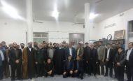گزارش تصویری / دیدار مدیرکل و روئسای دادگستری و دادستان های استان با آیت الله اعرافی