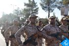رژه پرصلابت نیروهای مسلح در شهرستان میبد/ از دو پهپاد پادگان نبی اکرم(ص) رو نمایی شد+ تصاویر
