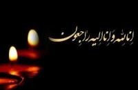 پیام تسلیت دفتر امام جمعه میبد به مناسبت درگذشت والده مکرمه شهید امرالله غنی پور